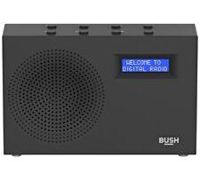 Bush DAB / FM Radio - Black BD1709