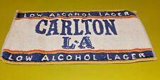 Carlton L A Lager vintage bar towel