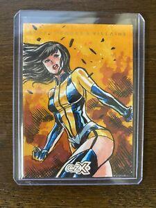 2019 DC CZX Heroes Villians Cryptozoic Silk Spectre sketch card 1/1 Alfret Le