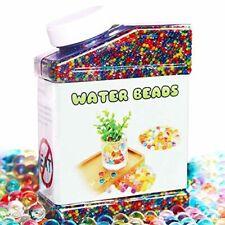 Elongdi Water Beads Pack Rainbow Mix 50,000 Beads Growing Balls, Jelly Water Gel