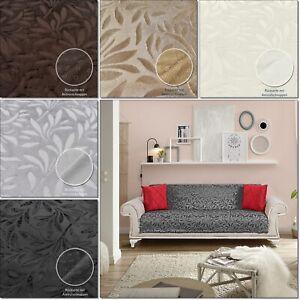 Sofaüberwurf Bettüberwurf Tagesdecke Möbelschutz  Sesselschutz Anti-rutsch