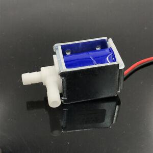 Micro Electroválvula Mini Eléctrico Normalmente Cerrado Agua Dc 12V Kit Juego