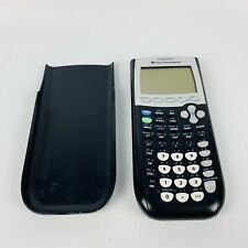Texas Instruments TI-84 Plus Graphing Calculator Black Tested EUC