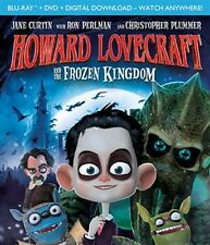 HOWARD LOVECRAFT AND THE FROZEN KINGDOM New Sealed Blu-ray + DVD
