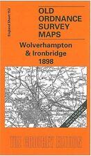 Carte de Wolverhampton & l'Ironbridge 1898