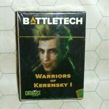 Battletech Warriors of Kerensky I Cards NIB Kickstarter Exclusive - Mechwarrior