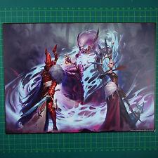 Triumvirate of Ynnead Kunstdruck A4  Eldar Warhammer 40K