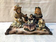 Yesterdays Child Dollstone Sarah Heather Elliot Dolly Amelia Tea For Four 3507