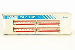 KATO N scale 10-092 TGV Additional 4 car set made in JAPAN VERY RARE !