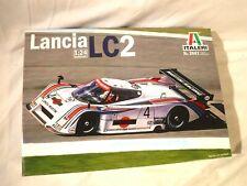 1/24 Italeri Lancia LC 2 w/ Ferrari V8 Engine # 3641