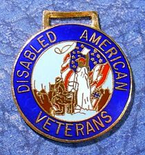 Disabled American Veterans Watch Fob
