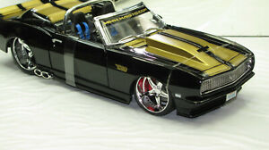 1968 CAMARO RS /SS 396 CUSTOM METALLIC GOLD&BLACK NEW IN BOX.!!!!!!!!!!!!!!!!