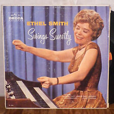 Ethel Smith Swings Sweetly LP Decca original deep groove with inner M-