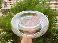 🔴 Carlo Scarpa per Venini vetro di Murano bolle vetro iridescente anni 30 glass