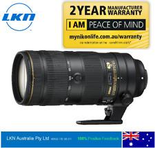 NIKON AF-S NIKKOR 70-200mm f/2.8E FL ED VR LENS - 2 Yr Nikon Aust. Warranty