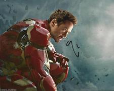 Robert Downey Jr Iron Man Autographed Signed 8x10 Photo COA #8