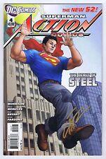 Action Comics #4 Signed w/COA Mike Choi VF/NM 2012 DC Comics
