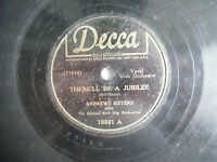 "Andrews Sisters Decca 18581 Jubilee Sing a Tropical Song 78rpm 10"" 198-4NA"