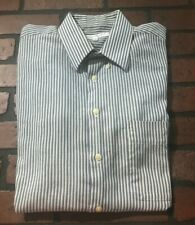Yves Saint Laurent Men's Striped Dress Shirt Size 15 32/33