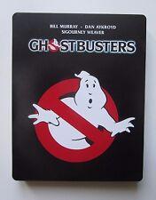 GhostBusters Blu-Ray SteelBook Italiano ITA zavvi Metal  Acchiappafantasmi 1984