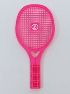 Barbie Vintage 1989 Hot Pink Tennis Full Size Kids Racket Racquet