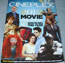 Cineplex Magazine January 2012 Ewan McGregor Daniel Radcliffe Glenn Close