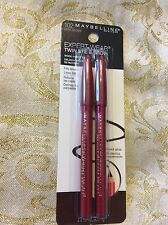New listing Maybelline Expert Wear Twin Eye & Brow Pencils #102 Dark Brown Fills Brows