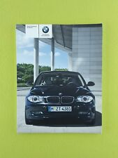 BMW 1 SERIES Facelift (2007 - 2011) Owners Manual / Handbook