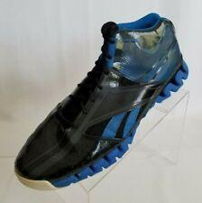 Reebok Zig Nano Basketball John Wall Black Blue Season 2 Mens Shoes Size 13