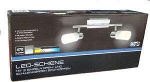 Briloner LED Deckenleuchte Strahler 2er Leuchte Spot Lampe 2x 5,5 W E14