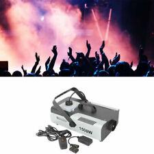1500w Fog Smoke Machine DJ Stage Fogger Effect RGB 9led 3in1 Multi Color Remote