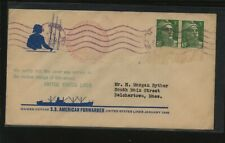 France  SS  American  Forwarder  cachet ship cover      EXC0602