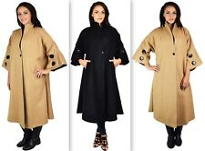 Designer Women Swing Jacket/Coat New style Plus Size Heavy Wool blend Swing Coat
