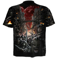 Spiral Gothic Goth Fantasy T-Shirt - Devils Pathway Zombies Unterwelt Dämonen