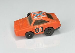 Vintage General Lee Car Dukes Of Hazzard Toy Wrist Racer Wind Up 1979