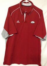 Adidas Mens Athletic Shirt Arkansas Razorbacks True To The Sport P39