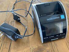 Panasonic RC-DC1 iPhone iPod Dock Clock Radio Charger Dual Alarm & AC Adapter