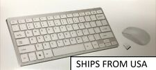 Mini 2.4G Wireless Keyboard and Optical Mouse Combo white apple style, RPI, PC