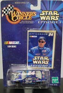 Jeff Gordon 1999 Star Wars Episode 1 Winners Circle Monte Carlo 1:64 DieCast Car