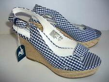 American Eagle Open Toe Wedge Sandals Size 7.5 M