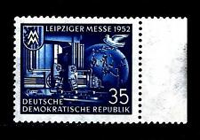 GERMANIA - DDR - 1952 - Fiera autunnale di Lipsia - 35 p.