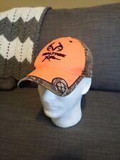 Real Tree Extra Orange Hat Camo Accent NWOT