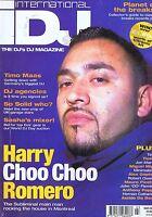 HARRY ROMERO / TIMO MAAS / TIESTO IDJ magazine     Mar 2002