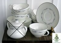 (LOT X13) VTG Royal Doulton Coronet H4947 Cups Saucers MINT England