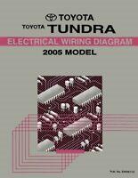 2011 Toyota Tundra Wiring Diagrams Schematics Layout Factory OEM | eBay