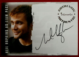 LOST - NEIL HOPKINS - Personally Signed Autograph Card