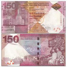 2016 P 343 BOC UNC HONG KONG 100 DOLLARS 2015