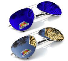 Gafas de sol de hombre de espejo sin marca
