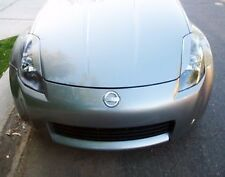 Fiberglass Headlight Eyebrows Covers for 2003-2007 Nissan 350z Fairlady 2004 05