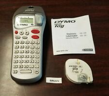 Dymo LETRA TAG Label Maker, Battery Operated, Hand Held Label Maker Extra Paper